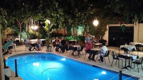 Hotel El Xalet: Dinner restaurant