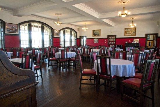 McAdam Railway Station : Dining room
