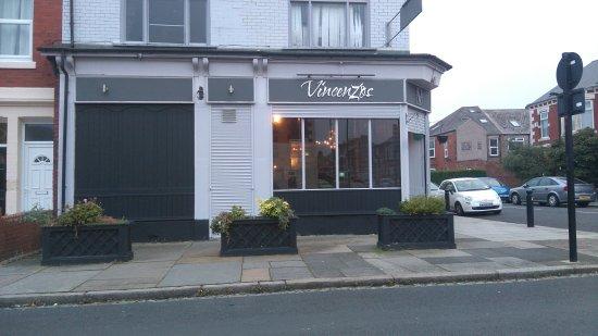 Vincenzos: Outside restaurant