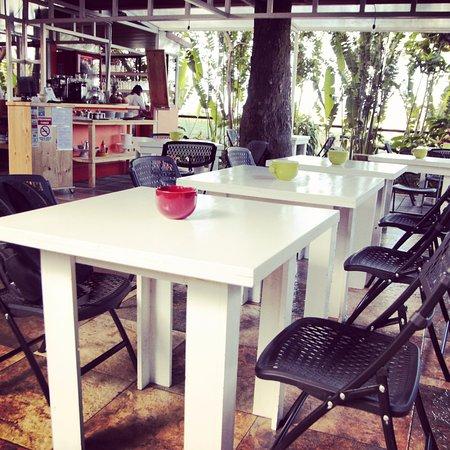 Grecia, Costa Rica: Interior del Restaurante