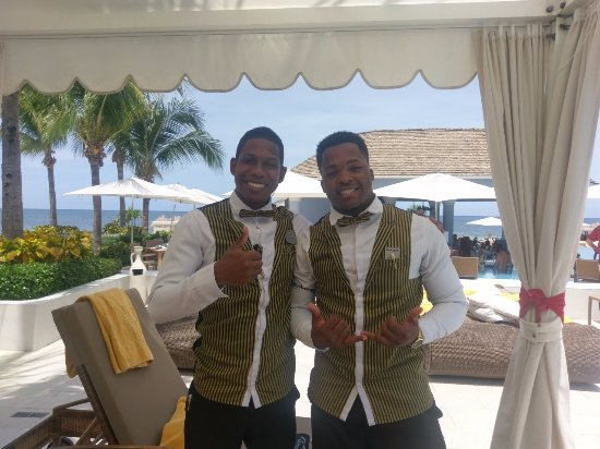 Iberostar Grand Hotel Rose Hall: My handsome butlers!