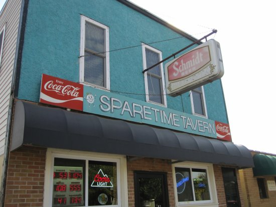 Belle Plaine, MN: Building front off Main Street