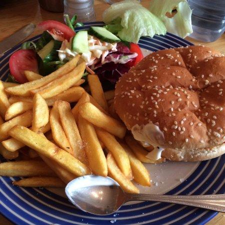 Waterfall Cafe: Chicken burger