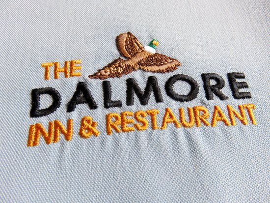 Nice napkins at The Dalmore Inn - Blairgowrie (05/Sept/17).