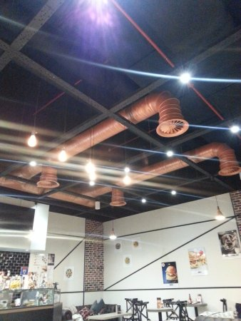 The ceiling design is also innovative.