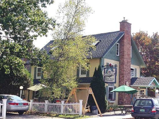 Depot Street Malt Shop: Easy to get to from anywhere in Stowe and even easier to enjoy! (smiles)
