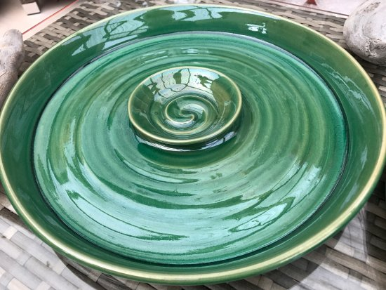 Waihi Beach, New Zealand: Platters - Ana Couper Ceramics