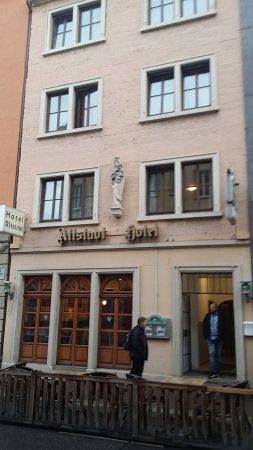 altstadt hotel restaurant prices reviews wurzburg