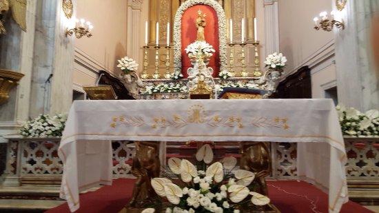 Meta, Italia: Altare maggiore