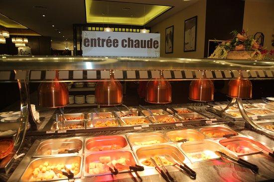Colmar Restaurant Wok 168 Buffet Des Entrees Chaudes