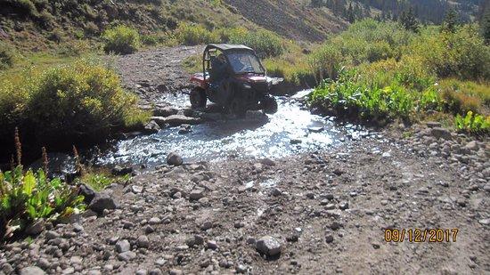 Creede, CO: Creeks, streams, mud, rocks and fun, fun, fun!!