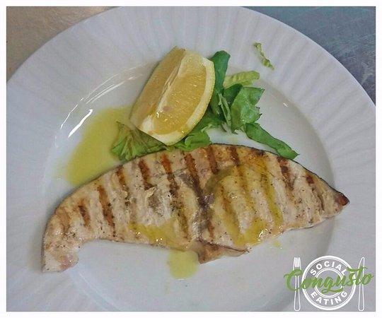 Peccioli, Italia: Pesce spada