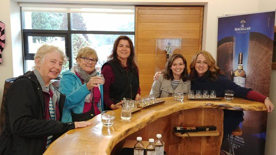 Glenlivet, UK: Tasting at Macallan