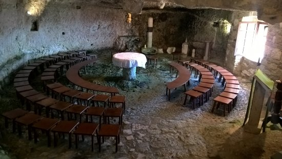 Pietracupa, إيطاليا: Chiesa rupestre