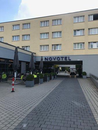 Novotel Munich City : entrance