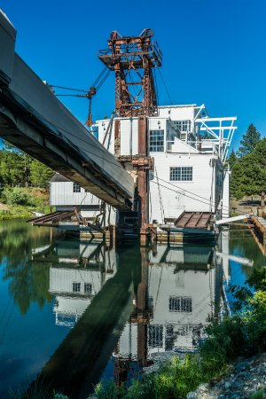 The Star of the Sumpter Valley Dredge Historical Area