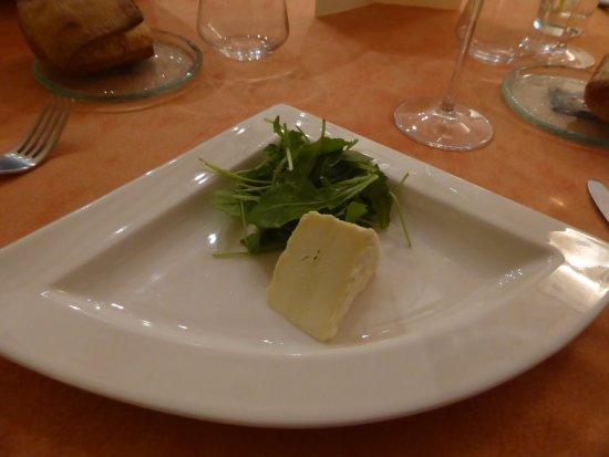Belgentier, France: Fromage : Saint-Félicien à la crème de mascarpone truffée