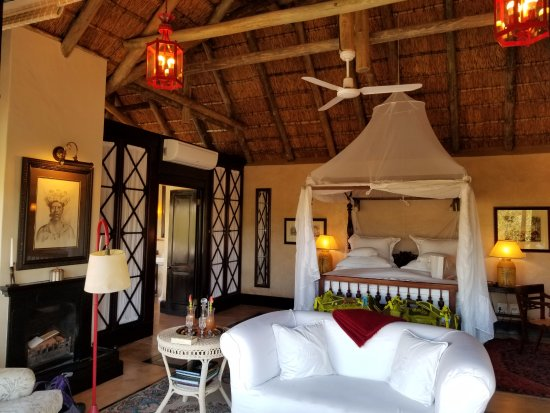 Royal Malewane: The suite (cabin).