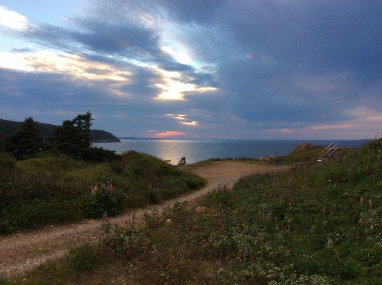 La Scie, Kanada: Sunset at Island Cove Park