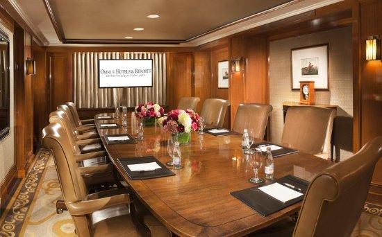 Omni Berkshire Place : Rockefeller Room