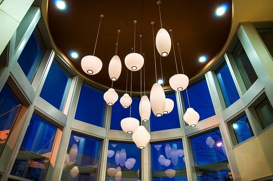 Hilton Garden Inn Detroit Downtown: Lobby Lighting