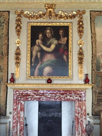 Ham House: Incredible marble, wood work and artwork throughout the home