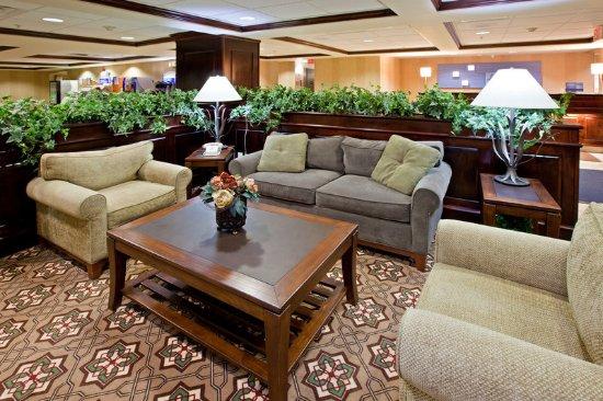 Lebanon, IN: Hotel Lobby