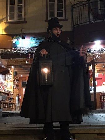 Ghost Tours of Quebec / Les Visites Fantomes de Quebec: Tour Begins