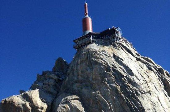 Excursão Chamonix Mont-Blanc Midi Peek