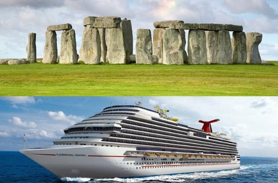 Private transfer to Southampton with a stop at Stonehenge