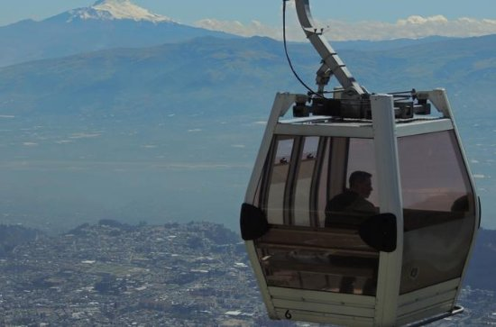 Seilbahn und Quito Private City Tour