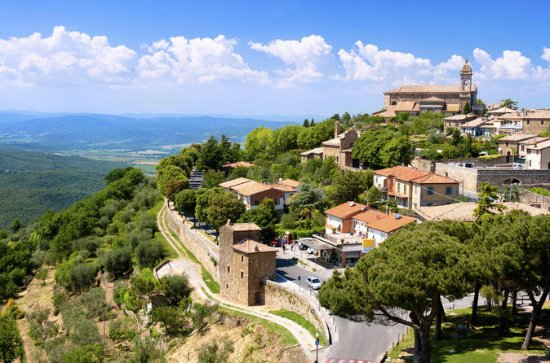 Montalcino Val D'Orcia with...