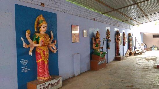 Theni, Indie: kuchanur temple...