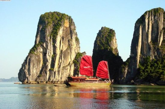 3-tägige Luxus-Bootsfahrt ab Hanoi...