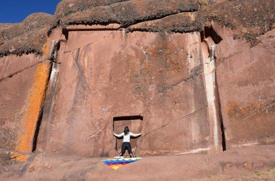 Aramu Muru tour with Andean Shaman