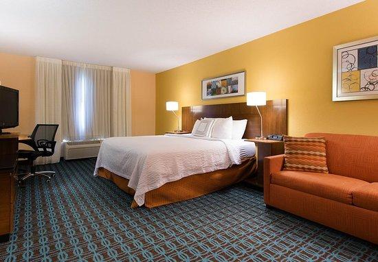 Orangeburg, Νότια Καρολίνα: Executive King Guest Room