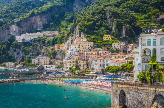 Sorrento, Positano and Amalfi Day Trip - from Naples