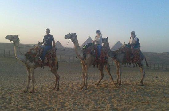 1 Stunde Kamelreiten in den Pyramiden...
