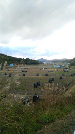 Minamisoma, Japan: The decontamination work in the vast area has been in progress. Photo in Iitake village in 2014