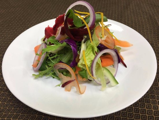 Master of India Restaurant : Summer salad with MOI Dressing.