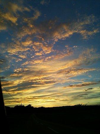 Minamisoma, Japan: Beautifu sunset in late summe in Odaka