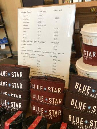 Blue Star Coffee Roasters: Menu