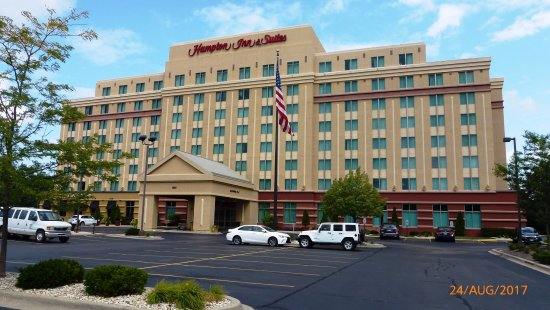 taken from the car park entry picture of hampton inn. Black Bedroom Furniture Sets. Home Design Ideas