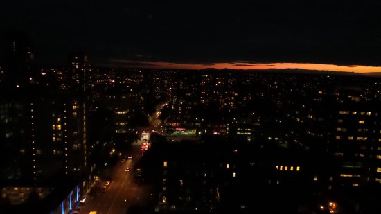 Century Plaza Hotel & Spa: View from 25th floor