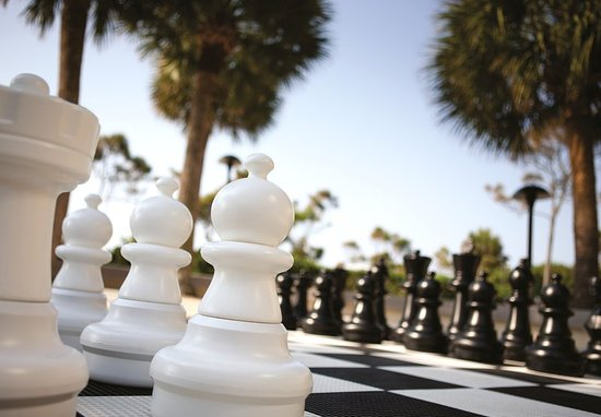 Marriott's Monarch at Sea Pines: Chess Game