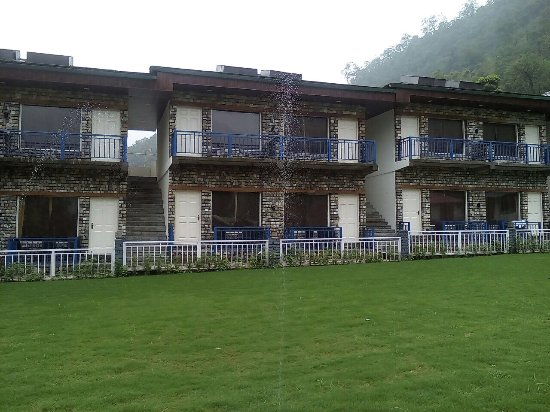 Rishikesh Tourism Area, Indie: Resort in Mountains