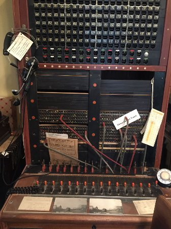 O'Fallon Historical Museum: The switchboard. I used to operate one of these.