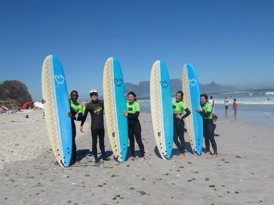 Bloubergstrand, Sydafrika: Group Lesson