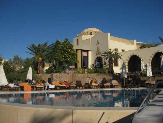 Dawar El Omda: Blick über den Pool