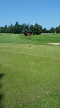 Rathbane Golf Course: 6th hole dog leg par 4